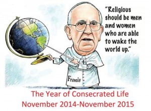 Pope Francis, Year of Consecrated Life